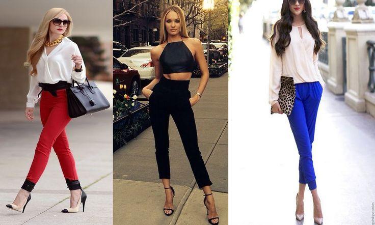 Outfits elegantes con pantalon