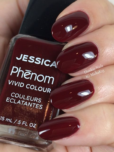 ehmkay nails: Jessica Cosmetics Phenom Colors: Winter 2015 Swatches and Review: Crown Jewel