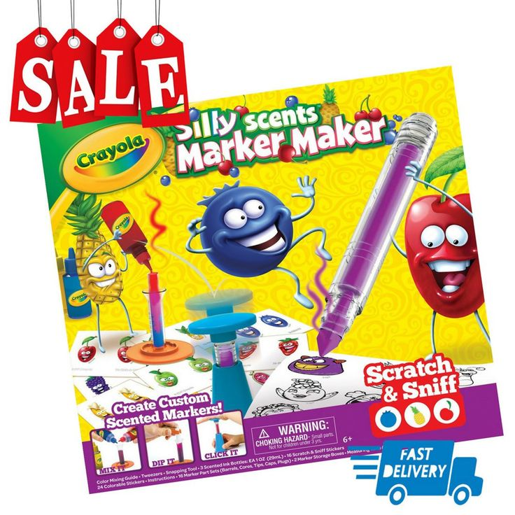 Crayola Silly Scents Marker Maker Scented Markers Gift  http://ift.tt/2DQ1TbV #Crafts #Kids' #Crafts #Drawing #Painting #Pens #& #Markers #Crayola #Silly #Scents #Marker #Maker #Scented #Markers #Gift  #trihoagstore