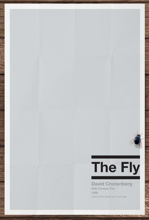 The Fly movie poster - collected for www.thecautioustrain.blogspot.com