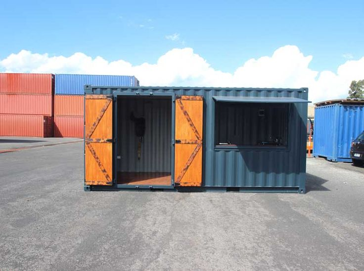 Shipping Container Cafe                                                                                                                                                                                 More