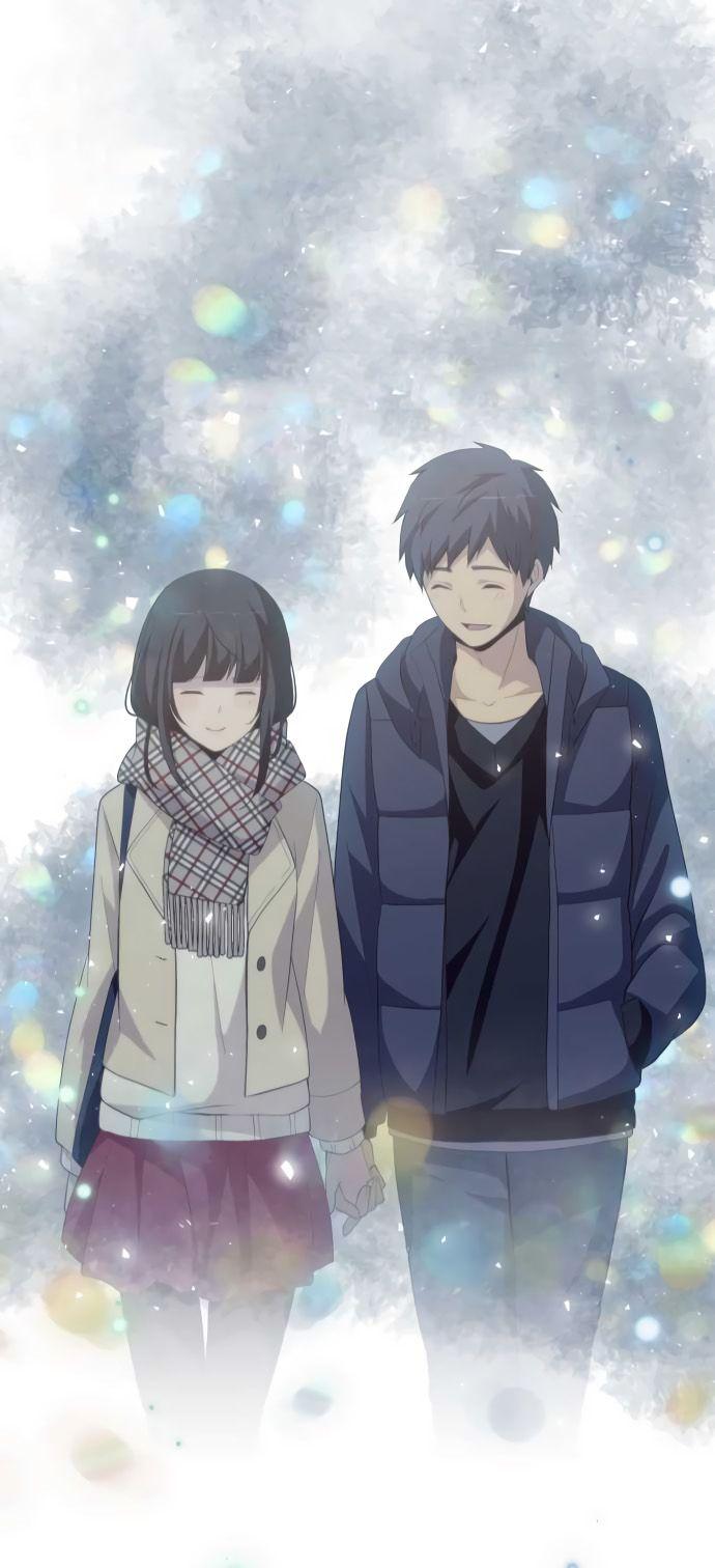 Kaizaki Arata Chizuru Hishiro Manga Anime Pasangan Anime Lucu
