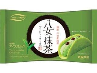 丸永 八女抹茶 オムレットアイス 袋55ml