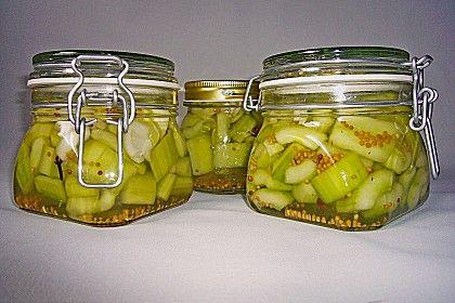 Senfgurken süß - sauer (Rezept mit Bild) von Rosensammlerin | Chefkoch.de