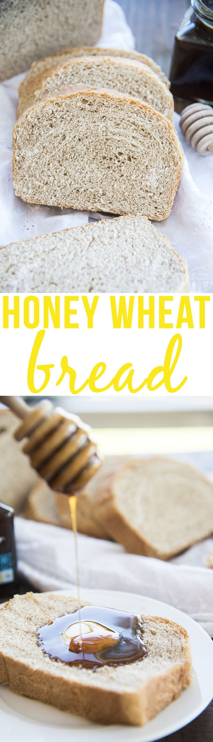 **This honey wheat bread is made in partnership with Buzz + Bloom Honey, as…