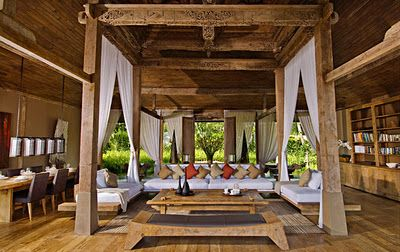 Would love a natural earthy home like this ........Khayangan Estate, Bukit-Bali