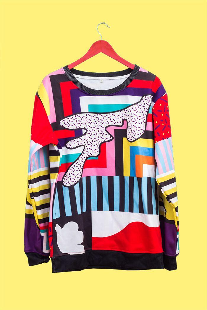 Color Pattern Sweat Buy - hi@markuslange.co