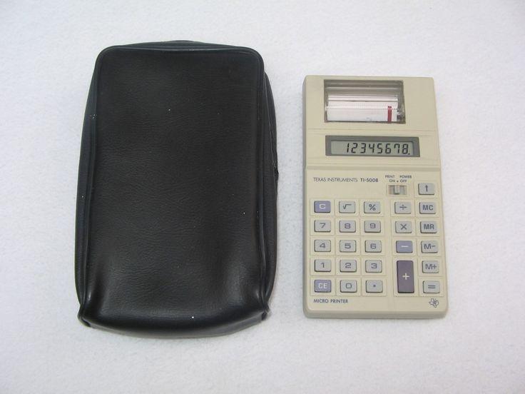 ti-5008 | Calculadora Texas Instruments Ti-5008 Vintage - $ 290.00 en ...
