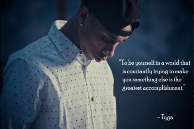 25+ Best Ideas About Tyga Quotes On Pinterest