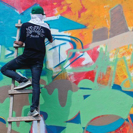 Burn The Flowers Bandung's Graffiti Jam on Behance