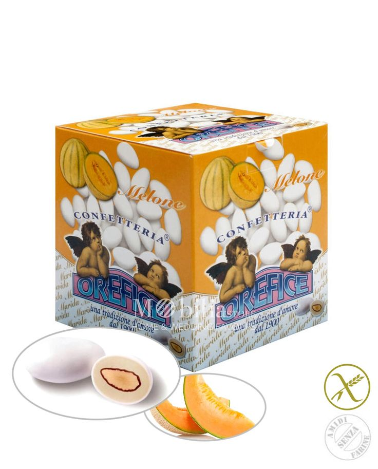 Confetti ripieni senza glutine melone Orefice