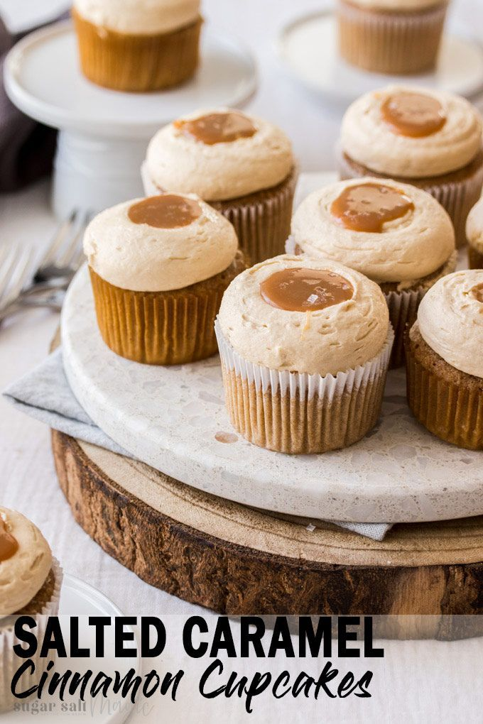 Cinnamon Cupcakes With Salted Caramel Frosting Recipe Cinnamon