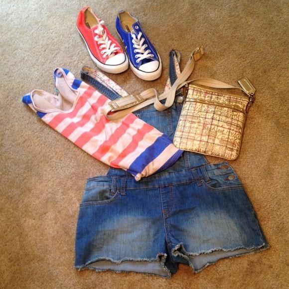 Denim Overalls Super cute - Denim Overalls shorts 21 Denim Jeans Overalls