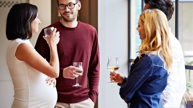 Risk of few drinks in pregnancy reviewed http://www.bbc.co.uk/news/health-41225593