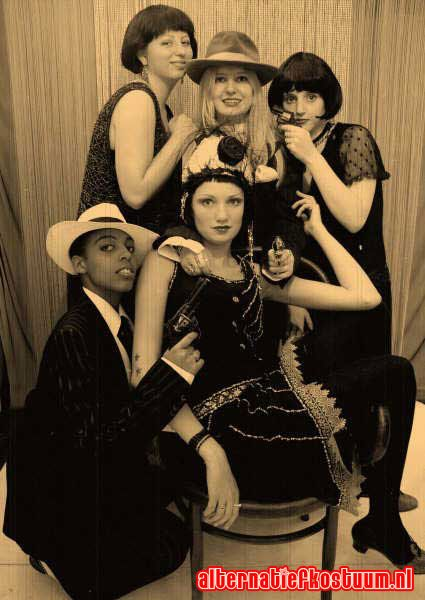 twenties party fashion 20's 20s themafeest 6