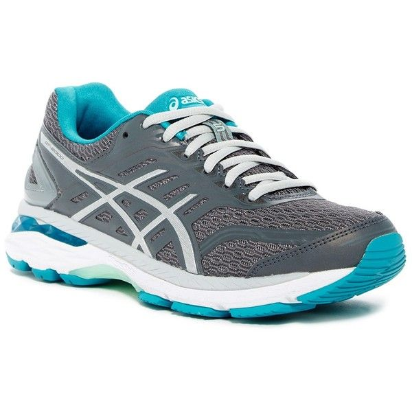 ASICS GT-2000 Running Shoe ($75) ❤ liked on Polyvore featuring shoes, athletic shoes, athletic running shoes, lace up shoes, flexible running shoes, mesh running shoes and light weight running shoes