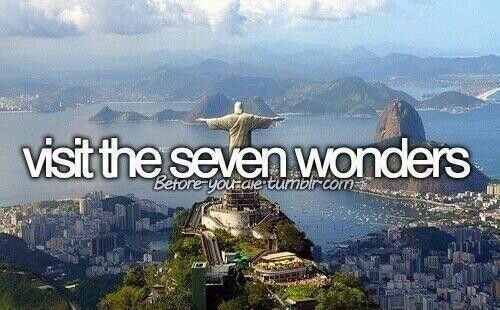 New Seven Wonders of the World vs. Ancient Seven Wonders =)