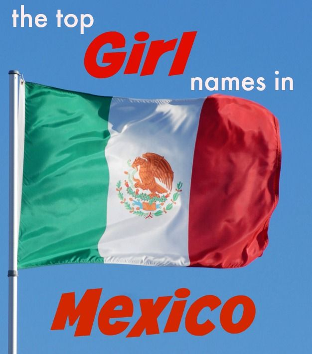 Most Popular Baby Names for Girls in Mexico.  Including Valentina, Ximena and more!