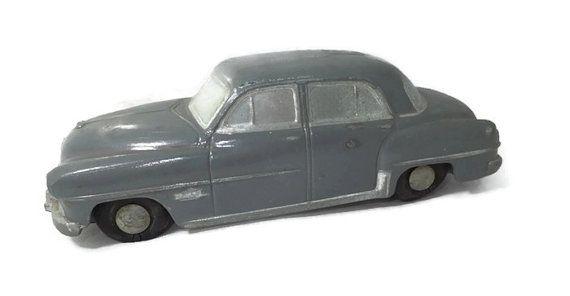 Dodge Coronet - Slush Mold Promo Car, Advertising, Banthrico Still Bank, Stamped Poilu Gray