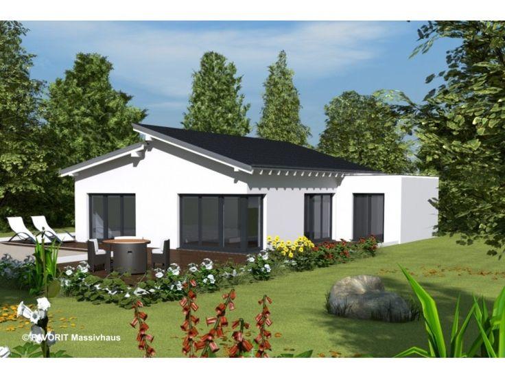 Hausfassade modern bungalow  51 besten Bungalow-Ideen Bilder auf Pinterest | Einfamilienhaus ...