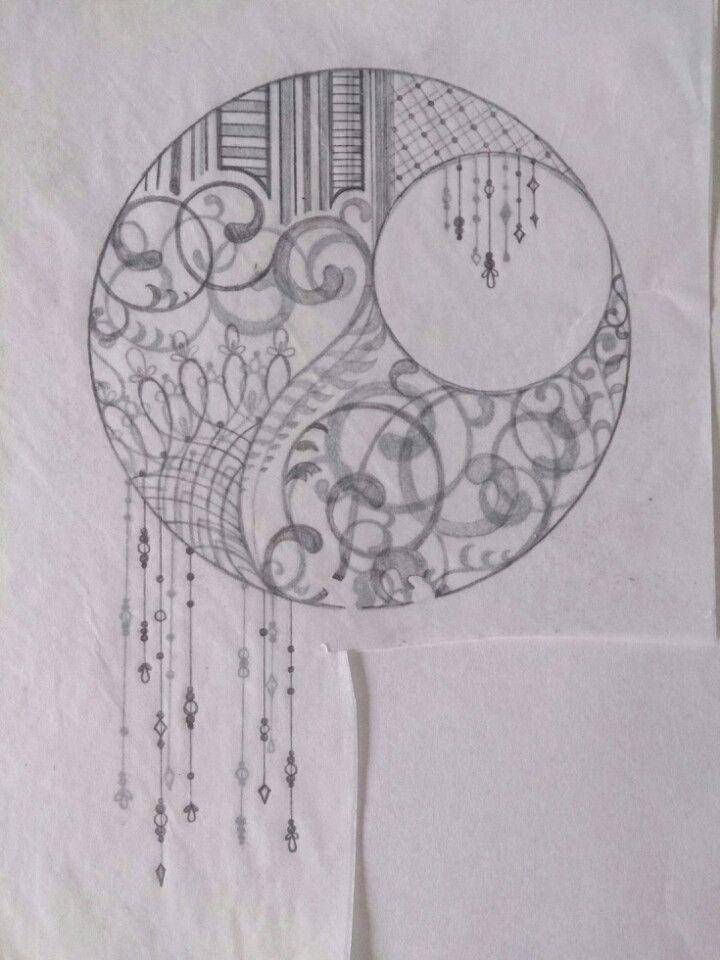 名刺作り 下書きの画像 | コトコト切り絵中