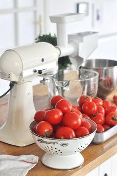Czas na zimowe zapasy? Mój własny przecier pomidorowy. | Make Cooking Easier