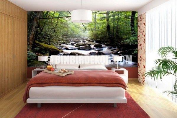Yatak Odası Manzara Duvar Posterleri 2015
