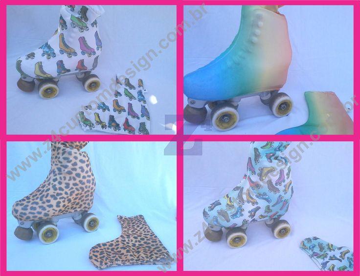 Patinação Artística - Cobre botas / Polainas para patins