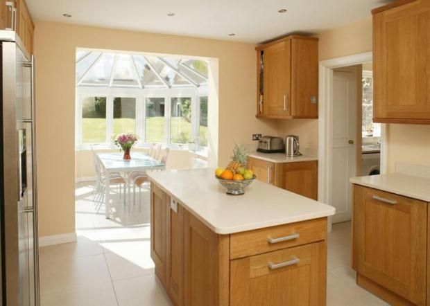 kitchen with conservatory design - Google Search
