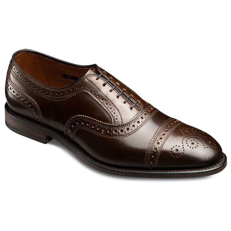 Cordovan Strand - Cap-toe Lace-up Oxford Men's Dress Shoes by Allen Edmonds