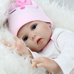 RINATO-BABY-GIRL-bambole-realistica-vinile-morbido-silicone-bambino-22-KIDS-Giocattoli-Regalo-di