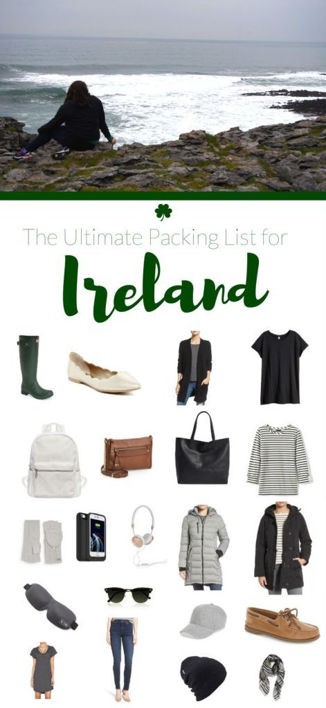 Packing List for Ireland in the Off-Season