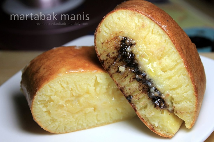 Martabak manis anti gagal...: Manis Anti, Anti Gagal, Food Geek, Indonesian Foods, Indonesian Dessert, Chief, Indonesian Recipe