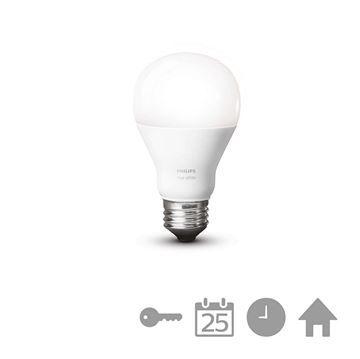 Bec LED Philips Hue, 9.5W, E27, A60, White www.etbm.ro/philips-hue-connected-lighting