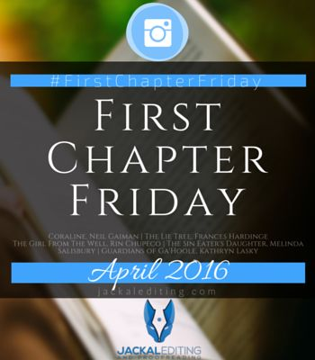 Every Friday I read the first chapter of a book I've never read before and post about it on Instagram using the tag #FirstChapterFriday.