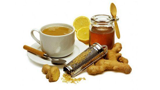 Глинтвейн с медом и имбирем