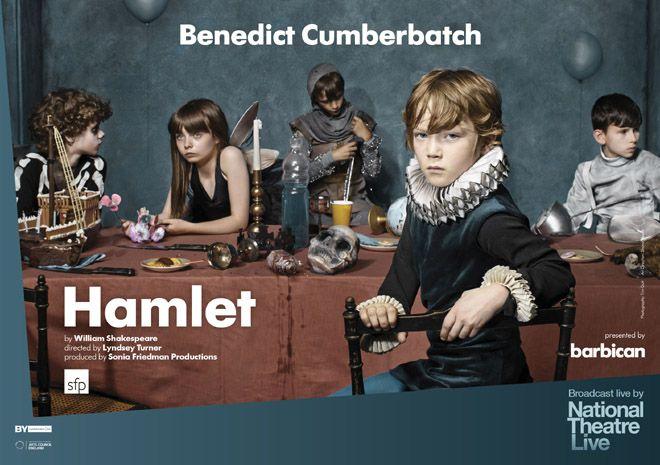 イギリスの「ロイヤル・ナショナル・シアター」の舞台作品を映画館で上映する「ナショナル・シアター・ライヴ」が、2016年のラインアップを発表。上演時、即完売となった話題作、ベネディクト・カンバーバッチ主演の『ハムレット』が開幕を飾る。