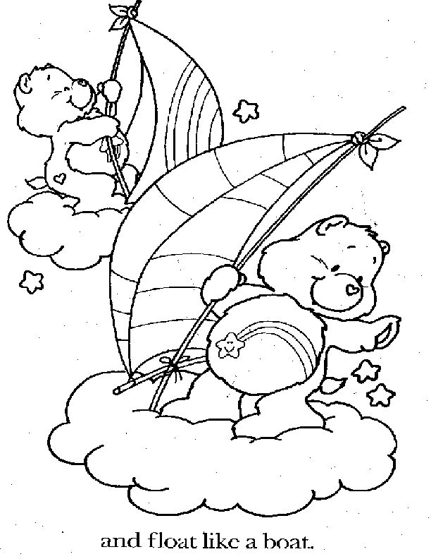 wish bear coloring pages - photo#21