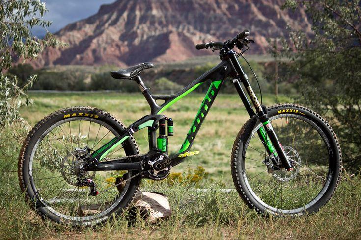 Rampage Pro Bike: Antoine Bizet's Kona Operator Carbon - Rampage Pro Bike: Antoine Bizet's Kona Operator Carbon - Mountain Biking Pictures -...
