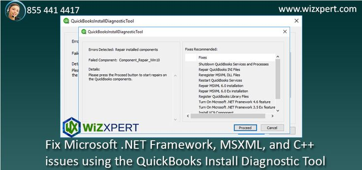 QuickBooks uses Microsoft component like Microsoft.Net Framework, MSXML and C++  to run the program properly on a Windows computer. You will face error like you will not able to install or use QuickBooks Desktop.An another version that is not suitable for Quickbooks Desktop version. Read more: QuickBooks Install Diagnostic Tool – Fix Microsoft .NET Framework, MSXML,