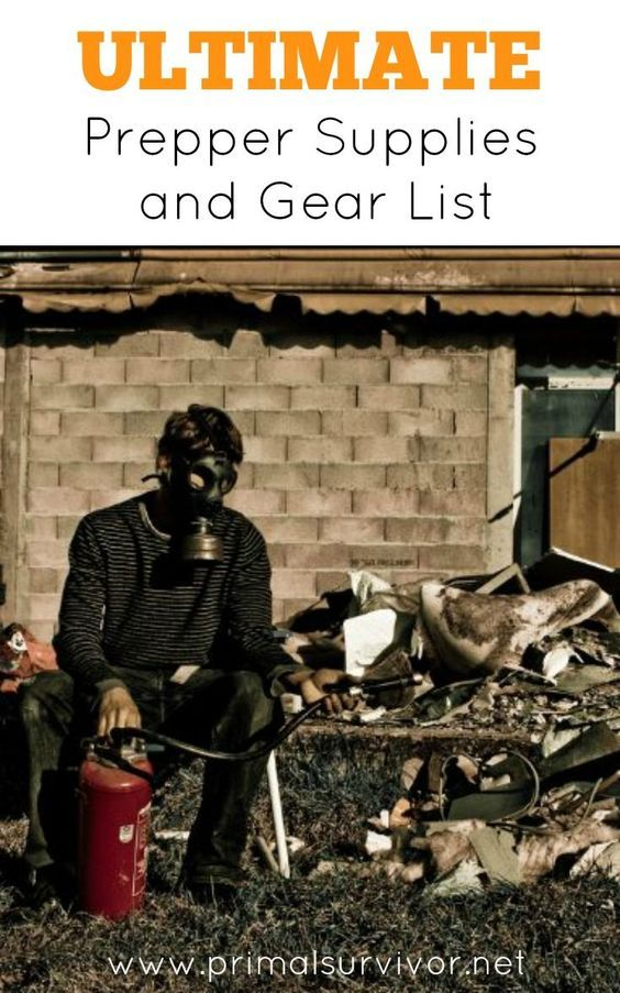 Ultimate Prepper Supplies and Gear List. What supplies and gear do you need to have when the SHTF? Of course, that depends. Are we talking about a global financial collapse? A nuclear disaster and EMP? Or maybe it is a terrorist attack, rioting, grid failure. This preppers supplies and gear list is meant to cover all of the items that a normal person would need in order to survive virtually any disaster