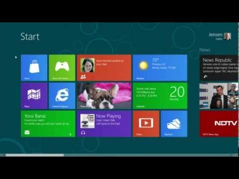Windows 8 Preview  Why waist the desktop space with stuff.. Make it useful and clean :)