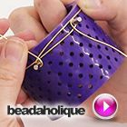 Tutorial - Videos: How to Make an Expandable Charm Bangle using the Artistic Wire 3D Bracelet Jig | Beadaholique