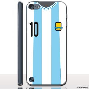 iPod Touch 6 Coque FooTBall Argentine - Coque personnalisée. #Football #iPodTouch6 #Coque #Personnalisée