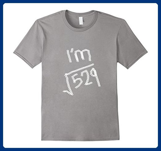Mens 23 Years Old Math T Shirt- Square Root of 529 Small Slate - Math science and geek shirts (*Amazon Partner-Link)