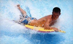 Groupon - Water-Park Adventure for Two or Four at The Wave Waterpark (Up to 51% Off)  in Vista. Groupon deal price: $18.00