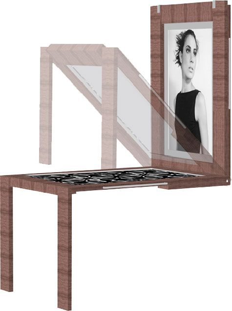 Wall Mounted Picture Frame Table 2