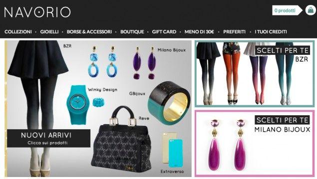 #Navorio .it, lo #shopping club per chi ama ricercatezza, unicità e stile