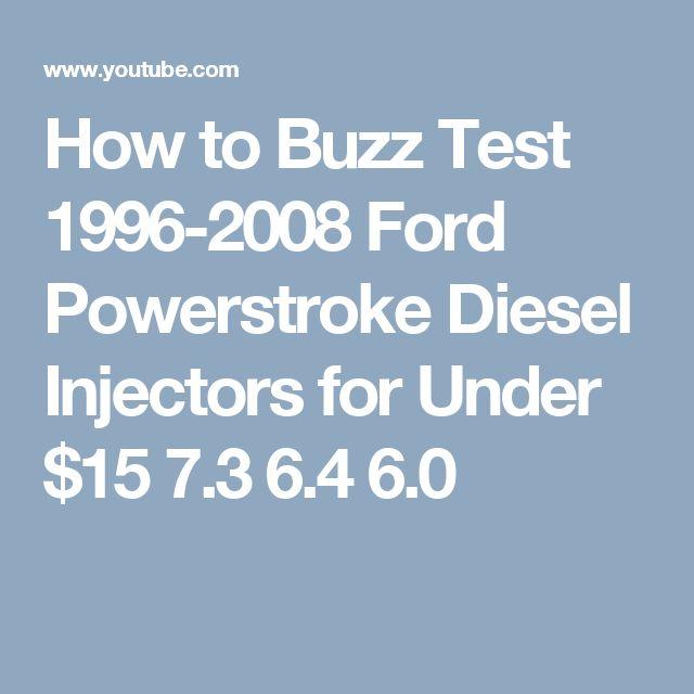 Car Gauge Pro   Powerstroke Buzz Test