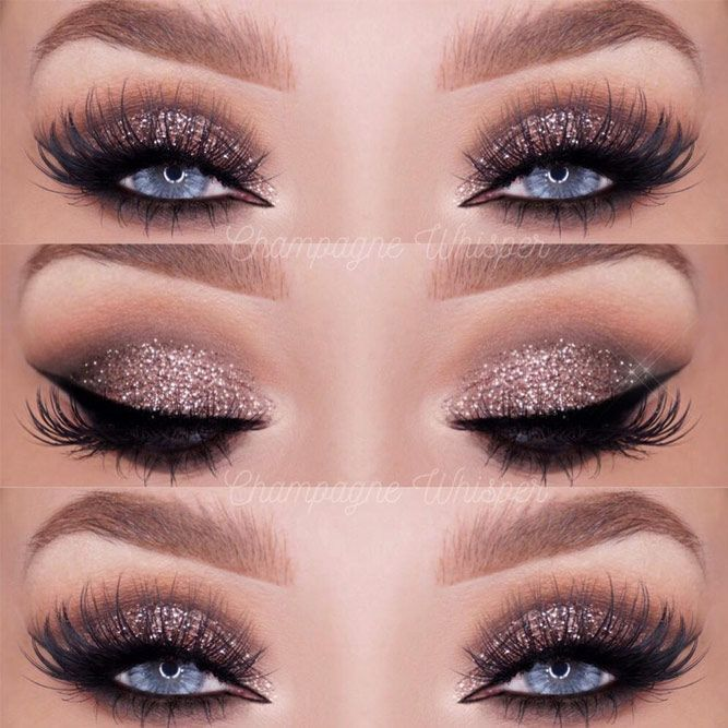 48 best ideas for make-up for blue eyes